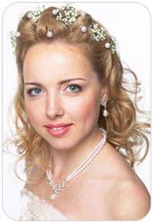 свадебные прически википедия